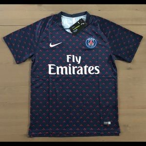 PSG soccer training jersey men